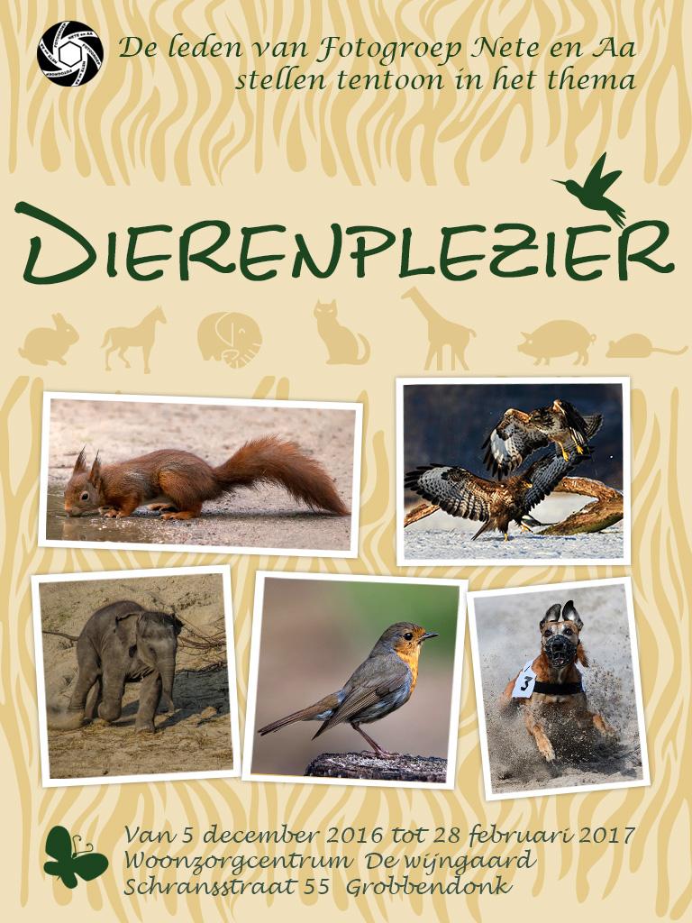Fototentoonstelling thema dieren